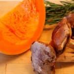zucca e porcini